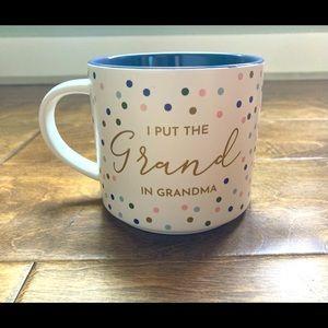 """THRESHOLD """"I Put the Grand in Grandma"""" Coffee Mug"""